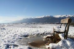 Un jour froid de l'hiver Images libres de droits