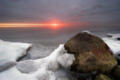 Un jour froid en hiver photo libre de droits