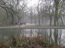 Un jour occupé dedans dans le Vondelpark, Amsterdam photo libre de droits