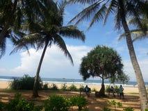 Un jour paresseux sur la plage Photographie stock libre de droits