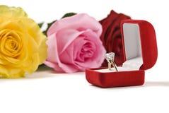 Un jour parfait de Valentine Images stock