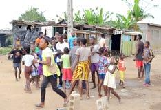 Un jour récréationnel au profit des orphelins Images libres de droits