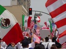 Un jour sans boycott immigré Images stock