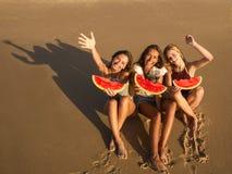 Un jour sur la plage Photo stock
