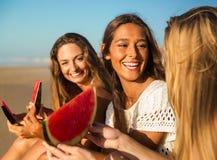 Un jour sur la plage Image libre de droits