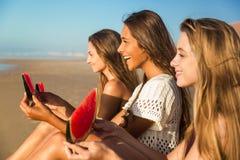 Un jour sur la plage Photographie stock libre de droits
