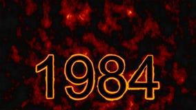 Un jour tragique pour tous les Sikhs - 1984 à l'arrière-plan du feu illustration libre de droits