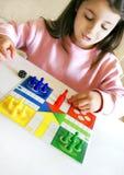 Un juego de mente Foto de archivo libre de regalías