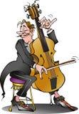 Un jugador clásico del violoncelo Fotos de archivo libres de regalías