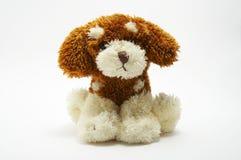 Un juguete - perro suave Imágenes de archivo libres de regalías
