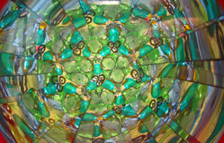 Un kaléidoscope de couleur Photo libre de droits