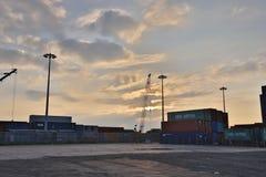 un Kwai Tsing Container Terminal in HK fotografie stock