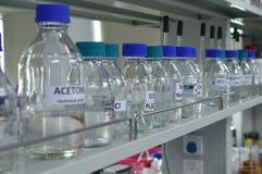 Un laboratoire de chimie Photographie stock