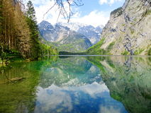 Un lac de mystère Photos libres de droits