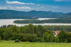 Un lac Solina Photographie stock libre de droits