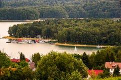 Un lac Solina Image libre de droits