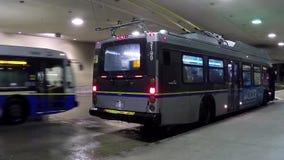 Un lado de término de autobuses