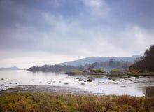 Un lago ad ovest calmo Tarbert immagine stock