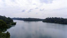 Un lago un bello giorno Immagine Stock