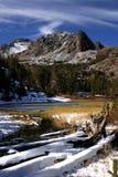 Lago virginia nell'alta sierra Immagine Stock