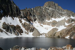 Un lago da 9000 FT Fotografie Stock Libere da Diritti