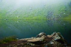 Un lago molto freddo Immagine Stock Libera da Diritti