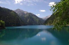 Un lago Valle-lungo nove village fotografia stock