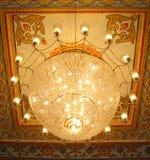 Un lampadario a bracci reale Fotografia Stock Libera da Diritti