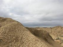 Un Landform tipico di Yadan in Xinjiang immagine stock