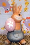 Un lapin de Pâques illustration de vecteur