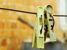Un lavadero más viejo de los tenedores Fotografía de archivo