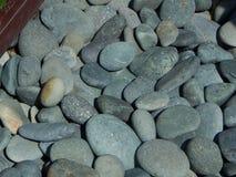 Un letto delle rocce del fiume Fotografie Stock Libere da Diritti