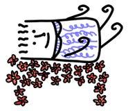 Un letto di fiore Immagine Stock