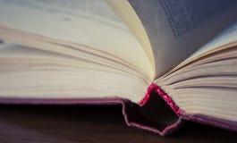 Un libro abierto Fotografía de archivo