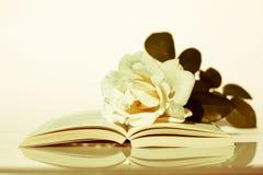 Un libro de los poemas del amor imágenes de archivo libres de regalías