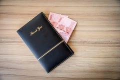 Un libro delle punte Fotografia Stock
