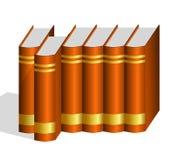 Un libro encartonado sacado de fila Imágenes de archivo libres de regalías