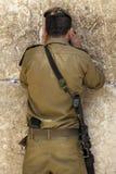 Le soldat de Dieu Photos libres de droits
