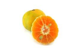 Un lleno y a medias anaranjado Fotografía de archivo libre de regalías