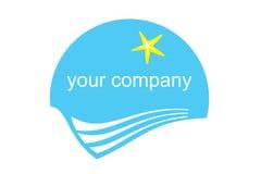 Un logo de tourisme Images libres de droits