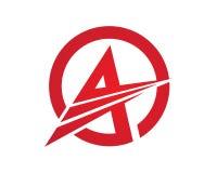 Un logo della lettera Fotografia Stock