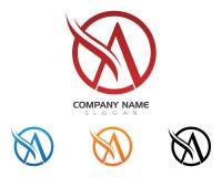 Un logo della lettera Fotografia Stock Libera da Diritti
