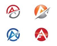 Un logo della lettera Immagini Stock Libere da Diritti