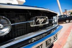 Un logo di Ford Mustang 1967 GT Immagine Stock Libera da Diritti