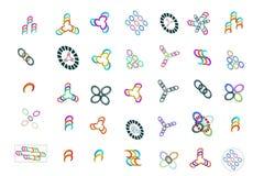un logo di 35 speciali per i nuovi siti Immagini Stock