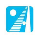 Un logo per la lettera a Immagine Stock Libera da Diritti