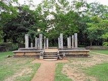 Un lugar antiguo en Sri Lanka Imagen de archivo libre de regalías