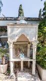 Un lugar de culto en el patio de la iglesia de Mary Magdalene en Jerusalén, Israel imágenes de archivo libres de regalías
