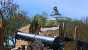 Un lugar histórico y un cañón metrajes