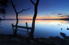 Un lugar pacífico a reflejar Fotos de archivo